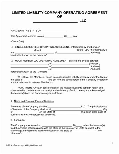 Sle Llc Operating Agreement Beautiful Content Uplo Document Idesigns Idea Articles Of Organization Arizona Llc Template