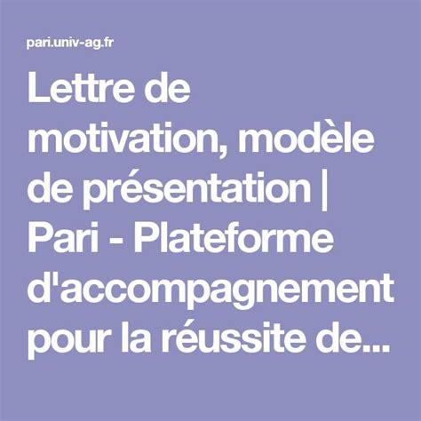 Présentation Lettre D Emotivation 25 Best Ideas About Mod 232 Le Lettre De Motivation On Lettre De Motivation Curriculum