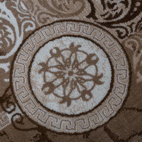 versace teppich designer teppich modern meliert floral mit versace muster