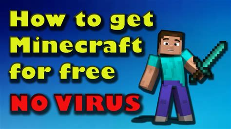 how to get full version of minecraft for free how to get minecraft for pc free no virus full version
