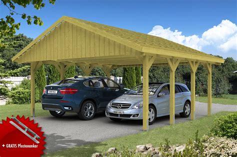 skanholz carport holz carport skanholz 171 sauerland 187 satteldach doppelcarport