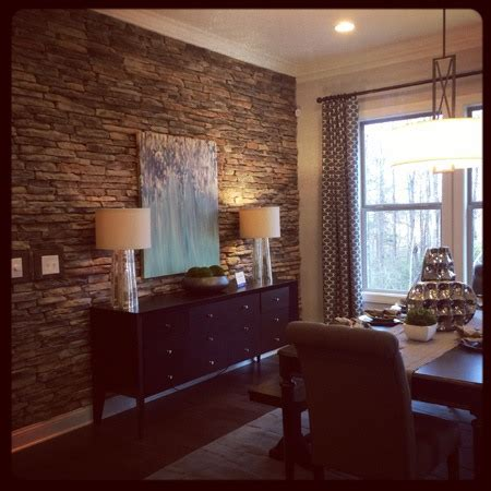 Dining Room Wood Accent Wall Home Decor Ideas From House Baby Gizmo Company