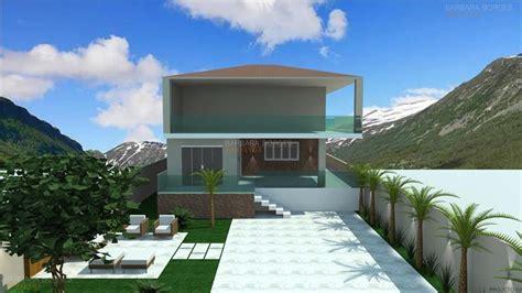projeto casa projeto de casa fachada barbara borges projetos