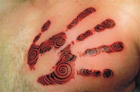 25 great handprint tattoos ideas