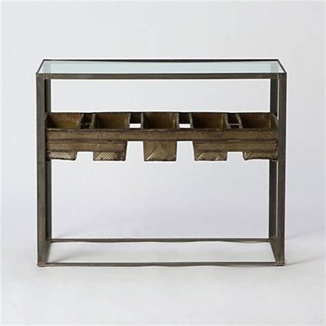 terrarium side table terrain 106 best images about botanical furniture on pinterest