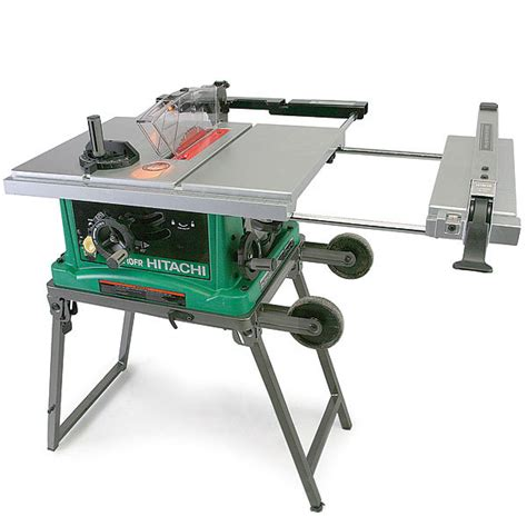 Hitachi Table Saw by C10fr Portable Tablesaw Review Homebuilding