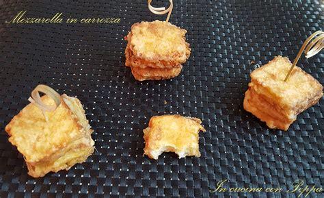 mozzarella in carrozza pangrattato mozzarella in carrozza ricetta semplice e saporita in