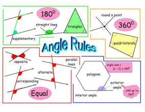 Free Year 9 Maths Revision by Angle Revision Poster Maths Gcse Poster And App