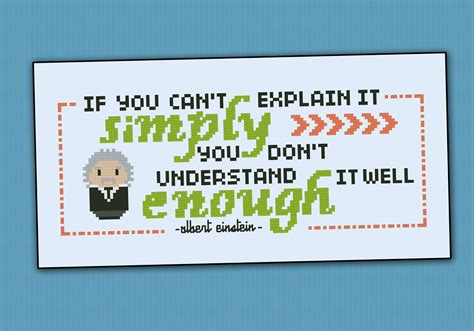 pattern quote albert einstein quote quot if you can t quot digital cross