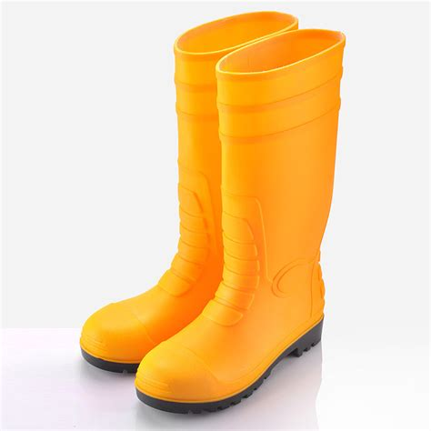 pvc boots steel toe yellow pvc boots boots molded pvc safety