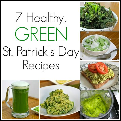7 Healthy Recipes by 7 Green St S Day Recipes Including Dye Free