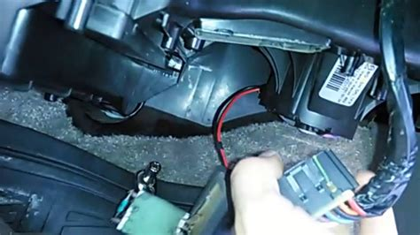 chevy tahoe ac blower resistor replacement  minute