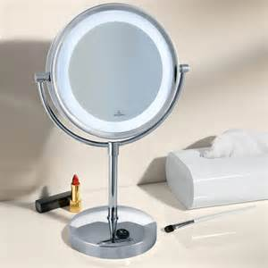 kosmetikspiegel mit beleuchtung villeroy boch beleuchteter kosmetikspiegel
