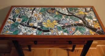 Mosaic Coffee Table Designs Song Birds Mosaic Table Mosaic Tile