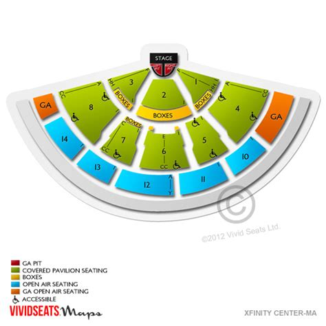 xfinity center seating xfinity center mansfield ma seating chart quotes
