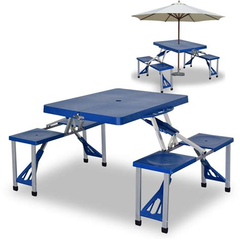 4 picnic table foldable picnic table with 4 seats lazada malaysia