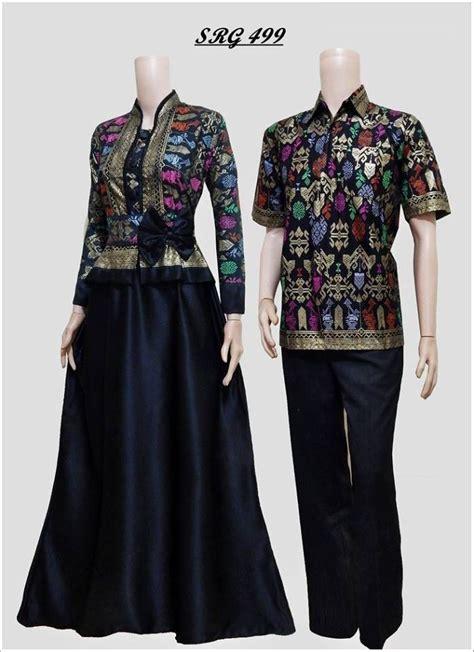Baju Pesta Pasangan baju gamis pesta batik sarimbit gamis murahan