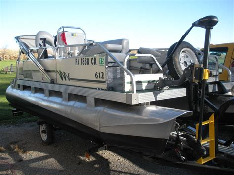 gillgetter pontoon prices gillgetter 612 2002 for sale for 6 750 boats from usa