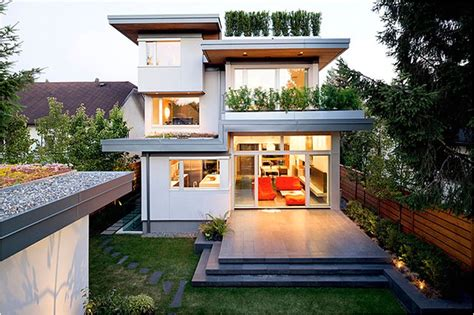 leed home plans leed platinum residence in vancouver by