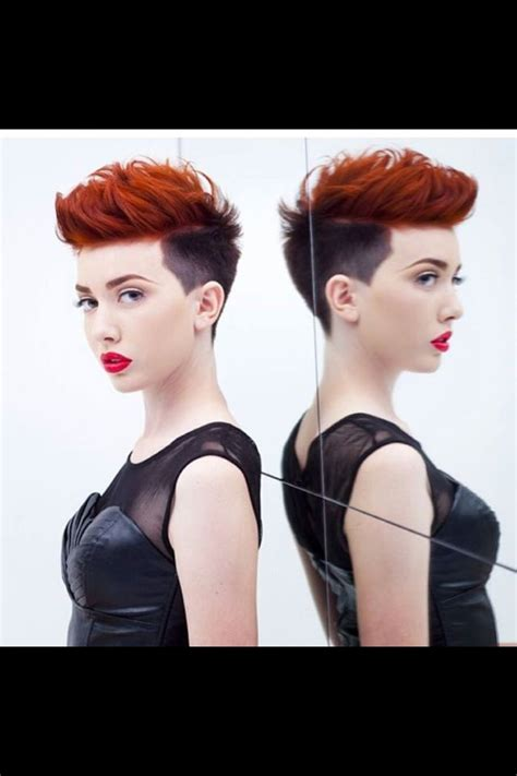 two color pixie cut two tone short hair health pinterest two tones