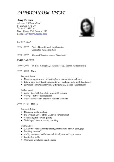 Cv Template Francais by Office Manager Cv Sle Francais Curriculum Vitae