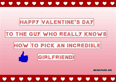 how to your boyfriend on valentines 214 s day wishes poems quotes for