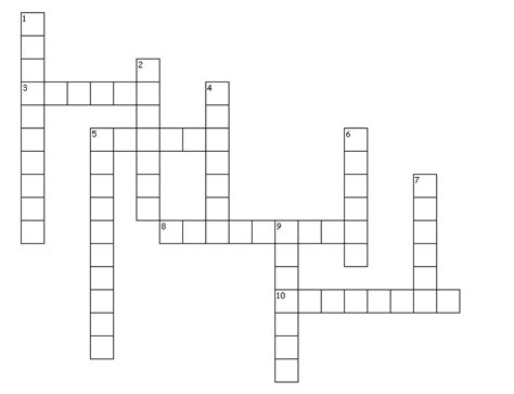 Light Crossword Puzzle Worksheet by Maths Crossword Puzzles For Class 10 Cbse Maths