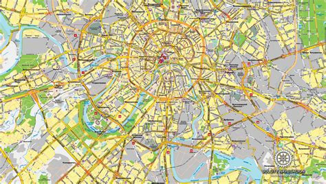 moscow map image gallery moscow map