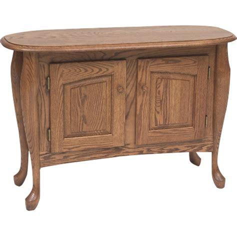 solid oak sofa table queen anne solid oak sofa table 39 quot the oak furniture shop