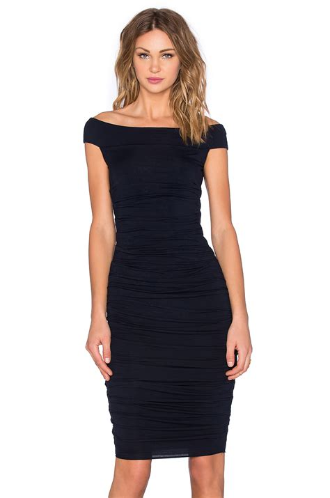 Bailey Dress bailey 44 more than a jersey dress in black lyst