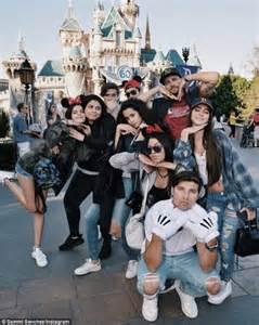 Beckhams Hit Disneyland by Beckham S Ben Ammar Hits Pre