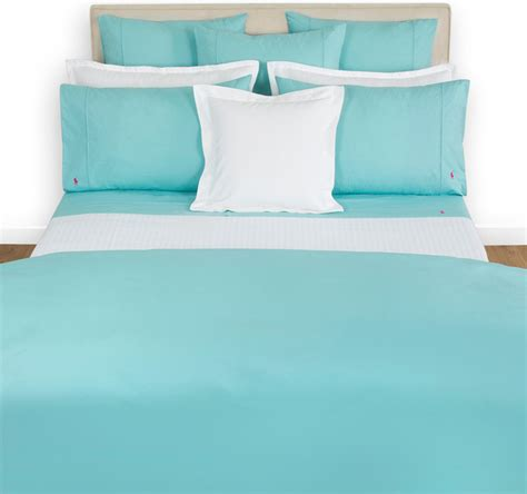 Set Bed Cover Polos 180x200 ralph home polo player aqua duvet cover modern duvet covers and duvet sets by amara