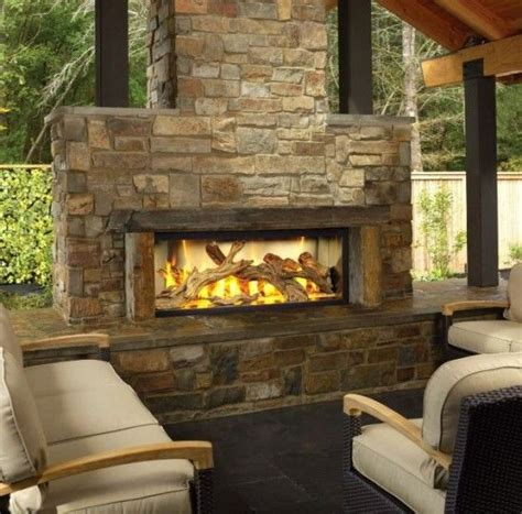 Large Outdoor Fireplace by Large Outdoor Fireplace Design For The Home