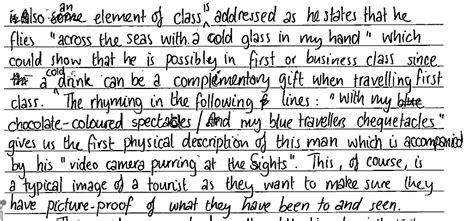 Literature And Language A Level Essay Structure by The Nardvark A Level 7 Essay From Ib Language A Paper 1 Standard Level