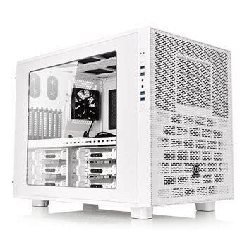 Segotep Mini Tt Cube Black White Side Window Usb 3 0 thermaltake x9 snow edition cube ln65606 ca