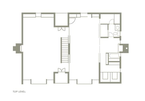 esherick house floor plan space72 esherick house
