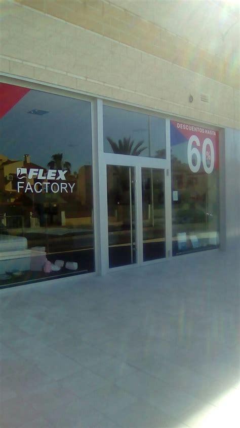 flex factory la zenia outlet de colchones flex en alicante