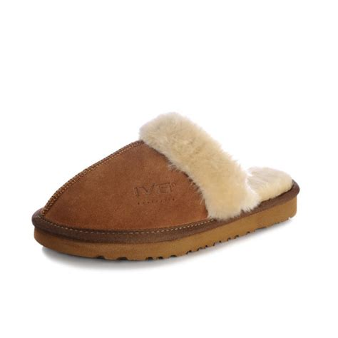 winter house slippers hot women s chestnut genuine leather indoor slippers winter warm house slippers