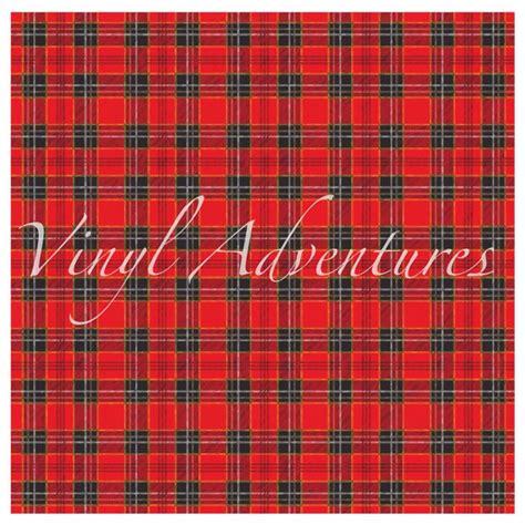 plaid pattern red black tartan plaid pattern vinyl red black plaid vinyl 1 sheet