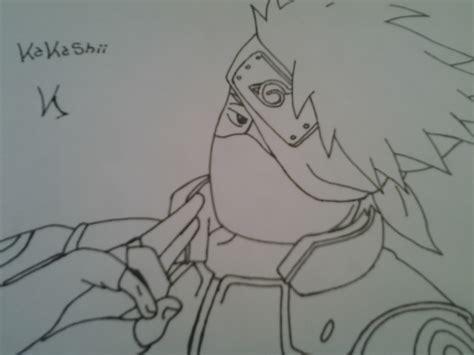 imagenes para dibujar kakashi dibujo de kakashi hatake en el foro otaku zone 2012 09