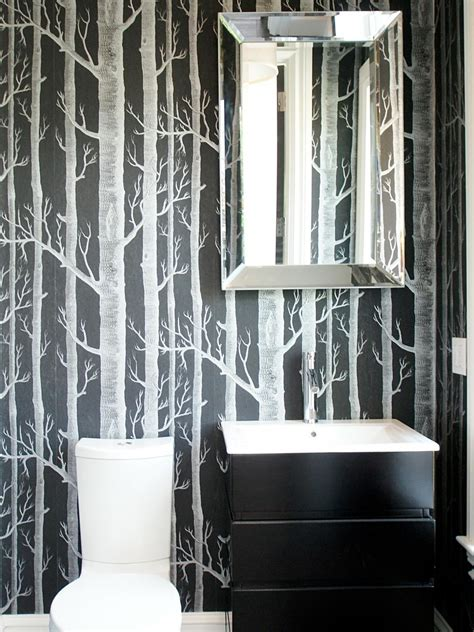 Wallpaper Bathroom Ideas by 20 Small Bathroom Design Ideas Hgtv