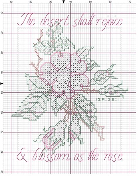 pattern tracing paper with grid cross stitch graph paper