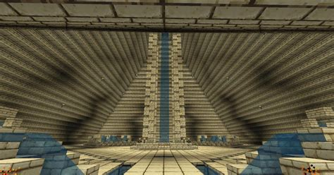 Pyramid Interior by Epic Pyramid 64w X 64l Base Downloads Minecraft Project