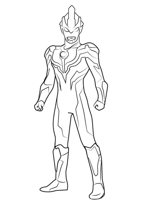 Mewarnai Sketsa Gambar Ultraman Untuk Mewarnai Terbaru