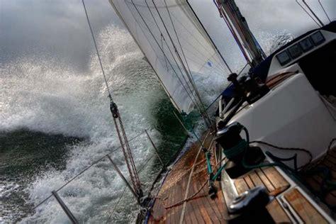 boat walk definition sailboat race storm water on deck ship pinterest