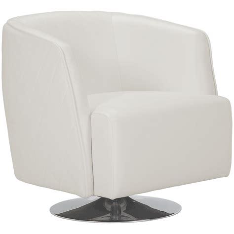 City Furniture Loki White Microfiber Swivel Accent Chair Microfiber Swivel Chair