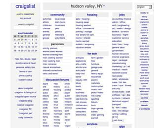 hudson valley craigslist backpage websites hudsonvalley
