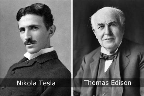 Nikola Tesla Edison Rivalries That Shaped The History Of Science 187 Science Abc