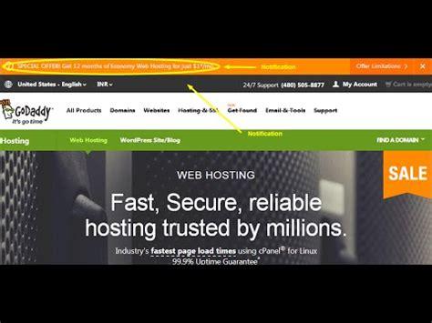 set   domain   hosting  godaddy youtube