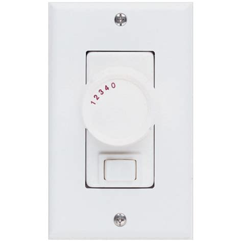 concord fans 3 way switch 4 speed white rotary knob